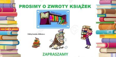 Zwrot książek
