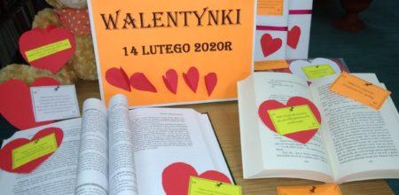 Walentynki w Bibliotece!
